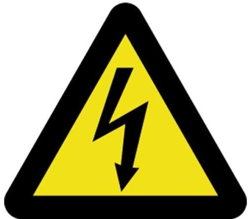 Advarselsskilt - Spænding