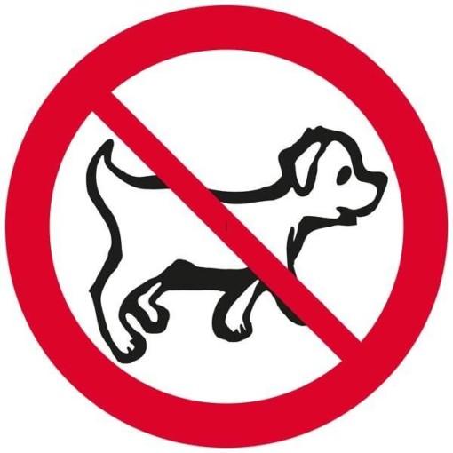 Hunde forbudsskilt