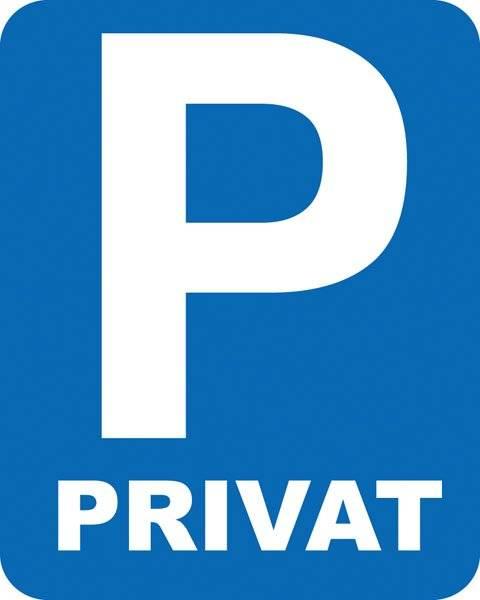 Parkerings skilt  P  Privat skilt