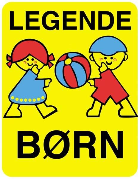 Legende børn. Skilt