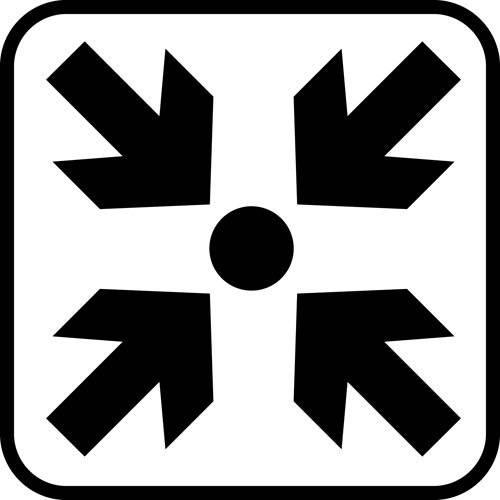 Mødested - piktogram skilt