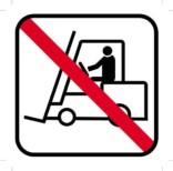 Truck forbud piktogram - piktogram. skilt