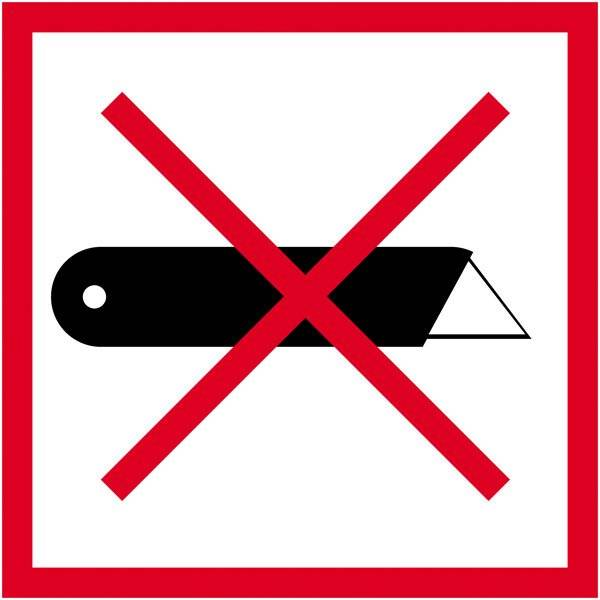 ark a 10 stk Etiket: Ikke skære