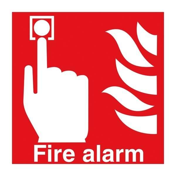Fire Alarm. Brandskilt