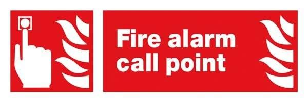 Fire Alarm Call Point Brandskilt