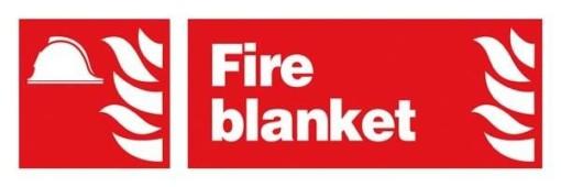 Fire Blanket: Brandskilt