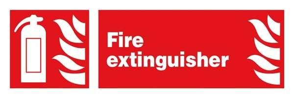 Fire Extinguisher: Brandskilt