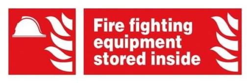 Fire Fighting Equipment Stored Inside: Brandskilt