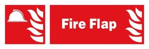 Fire Flap: Brandskilt