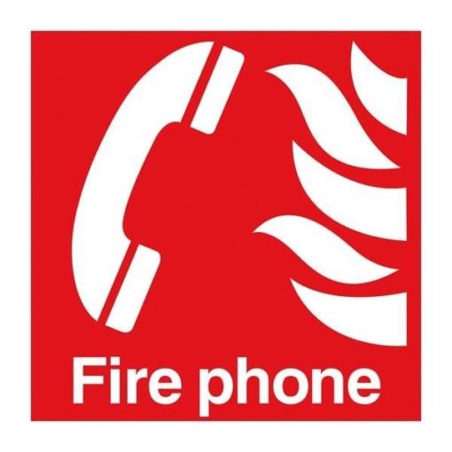 Fire Phone. Brandskilt