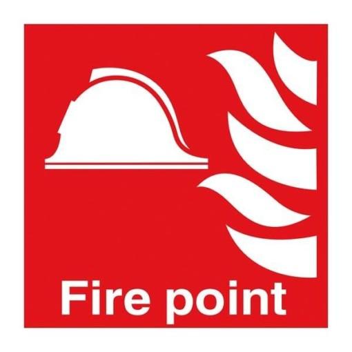 Fire Point. Brandskilt