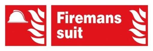 Firemans Suit: Brandskilt