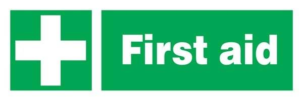 First Aid Redningsskilt