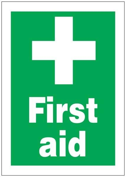 First Aid Redningsskilte