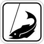 Fiskeri - Piktogram skilt