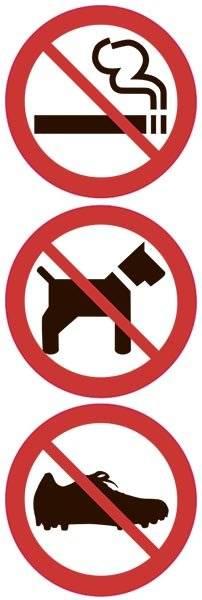 Forbuds skilte højkant rygning hund Fodboldstøvle. Forbudsskilt