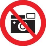 Foto forbud skilt