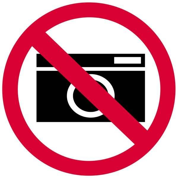 Fotoforbud  Forbudsskilt