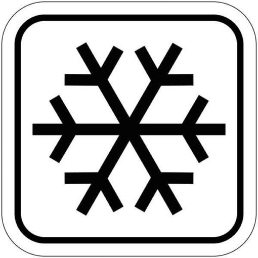 Frost Zone piktogram skilt