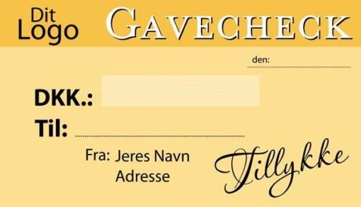 Stor Gavecheck