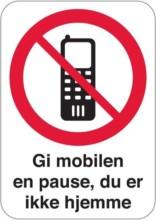 Gi mobilen en pause