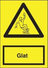 Advarselsskilt - Glat