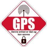 GPS - Denne enhed er låst og kan spores skilt
