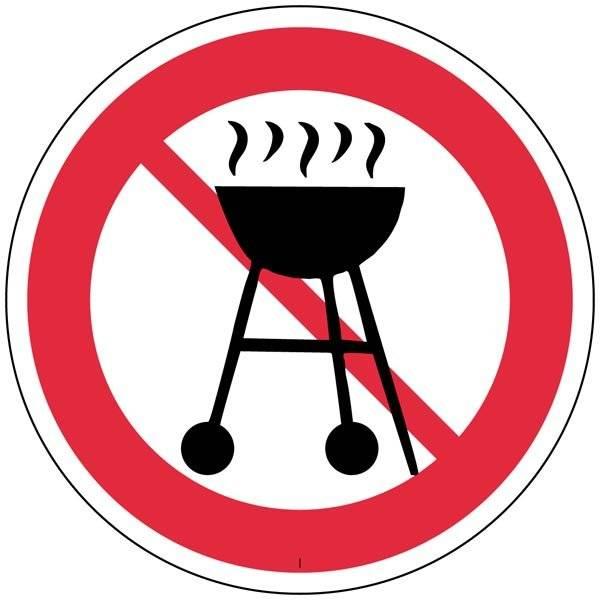Grill  forbudsskilt