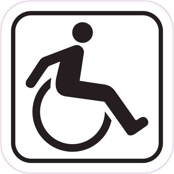 Handicap. Piktogram skilt