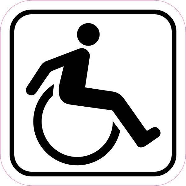 Handicap piktogram. skilt