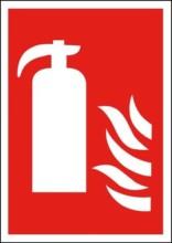 Ildslukker Brandskilt