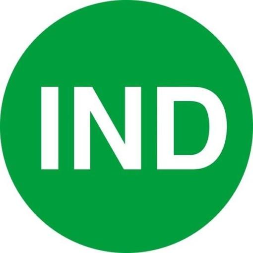 IND grøn skilt
