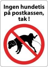 Ingen hundetis på postkassen
