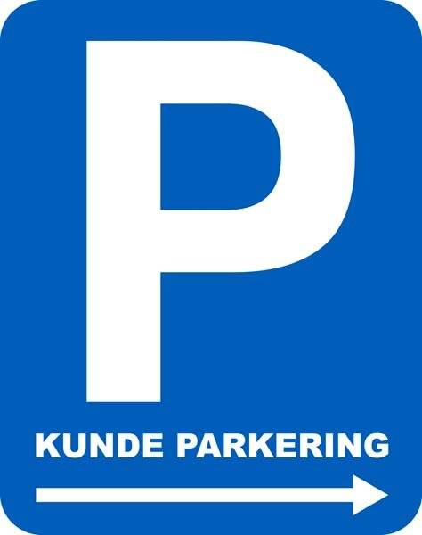 P kunde parkering