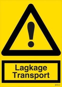 Advarselsskilt - Lagkage Transport