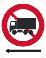 Lastbil forbudsskilt