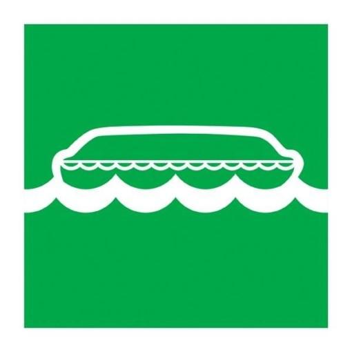 Lifeboat Redningsskilt