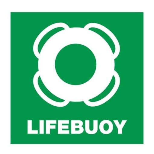 Lifebuoy: Redningsskilt