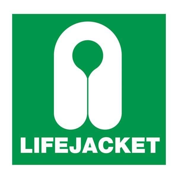 Lifejacket: Redningsskilt