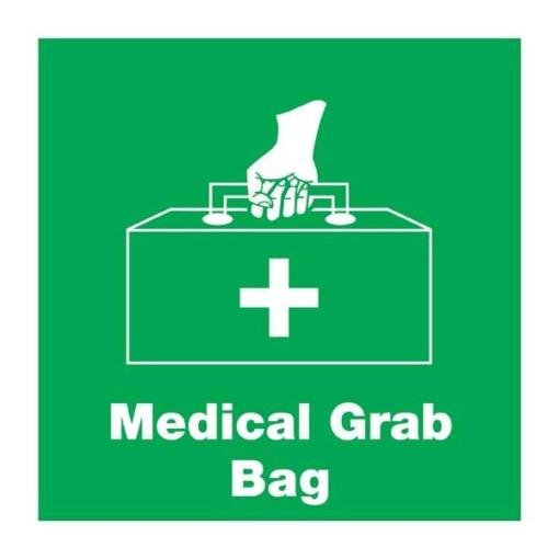 Medical Grab Bag Redningsskilt