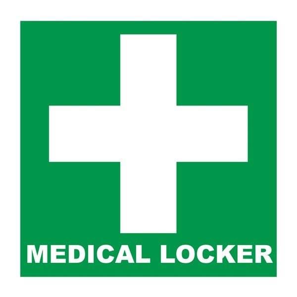 Medical Locker: Redningsskilt