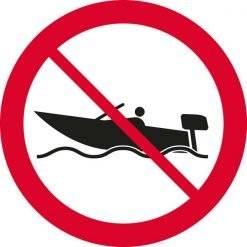 Sejlads forbudt