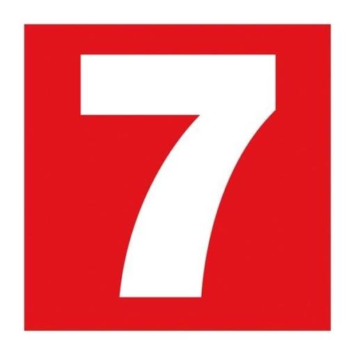 Number 7. Brandskilt