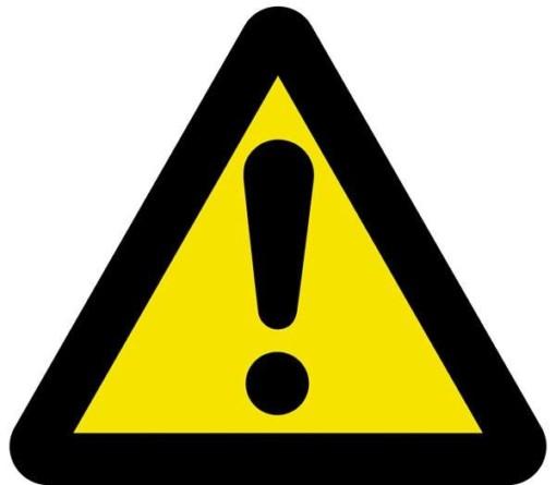 Advarselsskilt - OBS