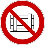 Oplagningsforbud Skilt