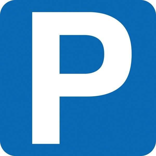Parkerings skilt P.