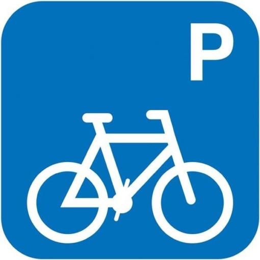 P cykler. Piktogram skilt
