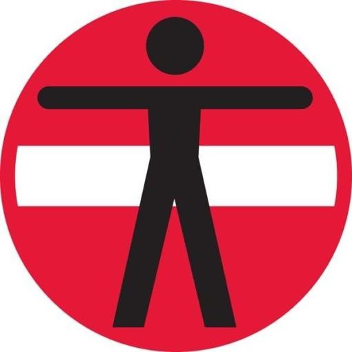 Person adgang forbudt skilt