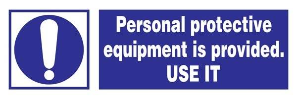 Personal Protective Equipment Is Provided