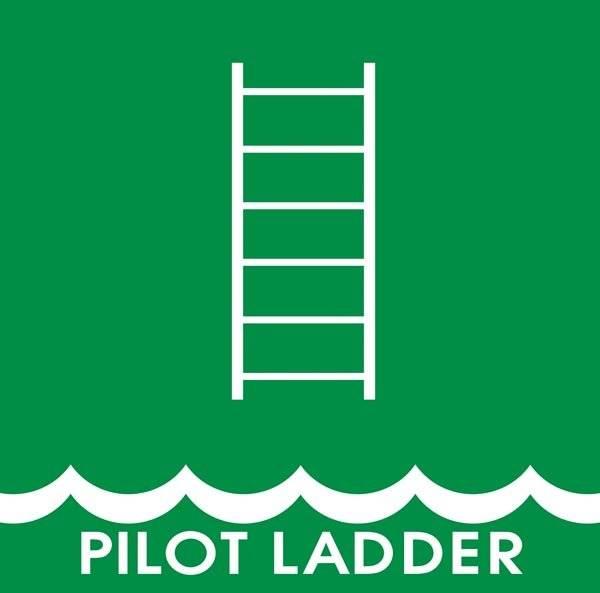 Pilot Ladder: Redningsskilt
